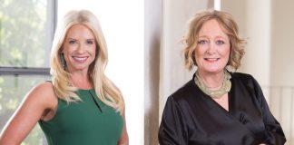 Julie Dewald and Sandra Pawliger