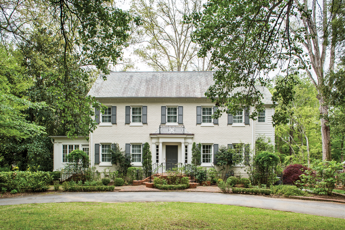 My Favorite House: A Druid Hills home with an untouched, classic exterior