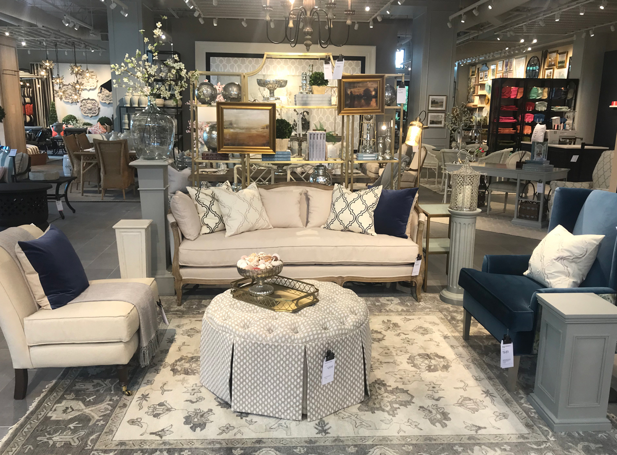Ballard designs opens its new larger flagship store in for Ballard furniture stores