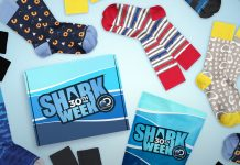Shark Week Sock Fancy