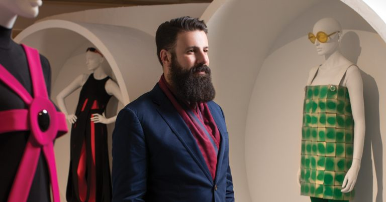 How SCAD FASH curator Rafael Gomes is imprinting the museum with his personal style and vision
