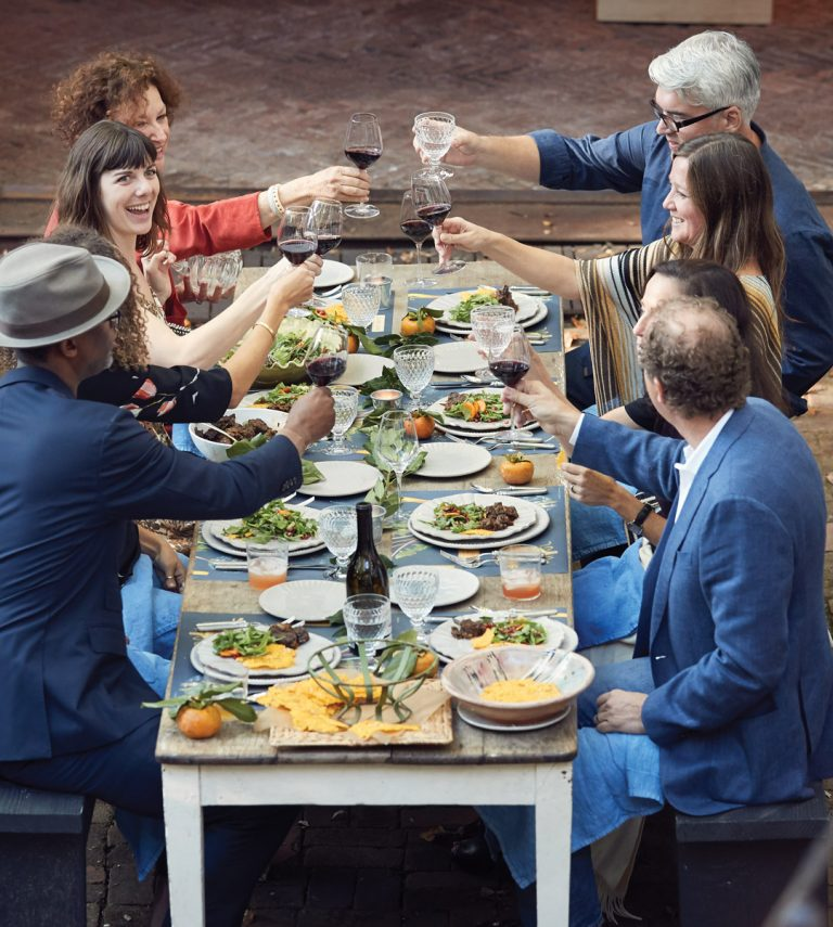 Throw a sophisticated, Southern fall supper with recipes from chef Scott Peacock and mixologist Navarro Carr