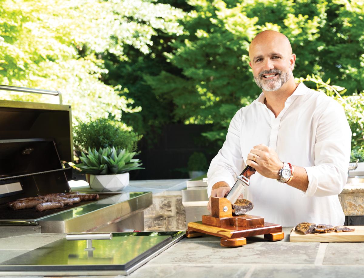 Chef's kitchen Justin Anthony