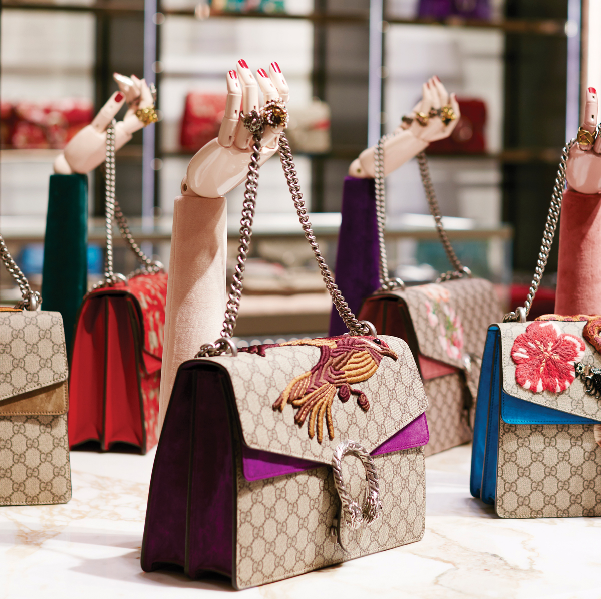 Where to shop now Gucci