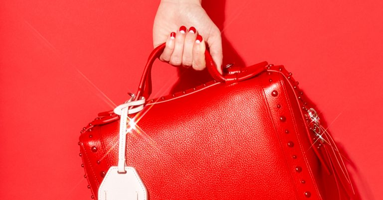 The most stylish color for this winter? Red.
