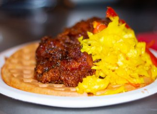 Betty's Waffle Emporium Monday Night Brewing Atlanta