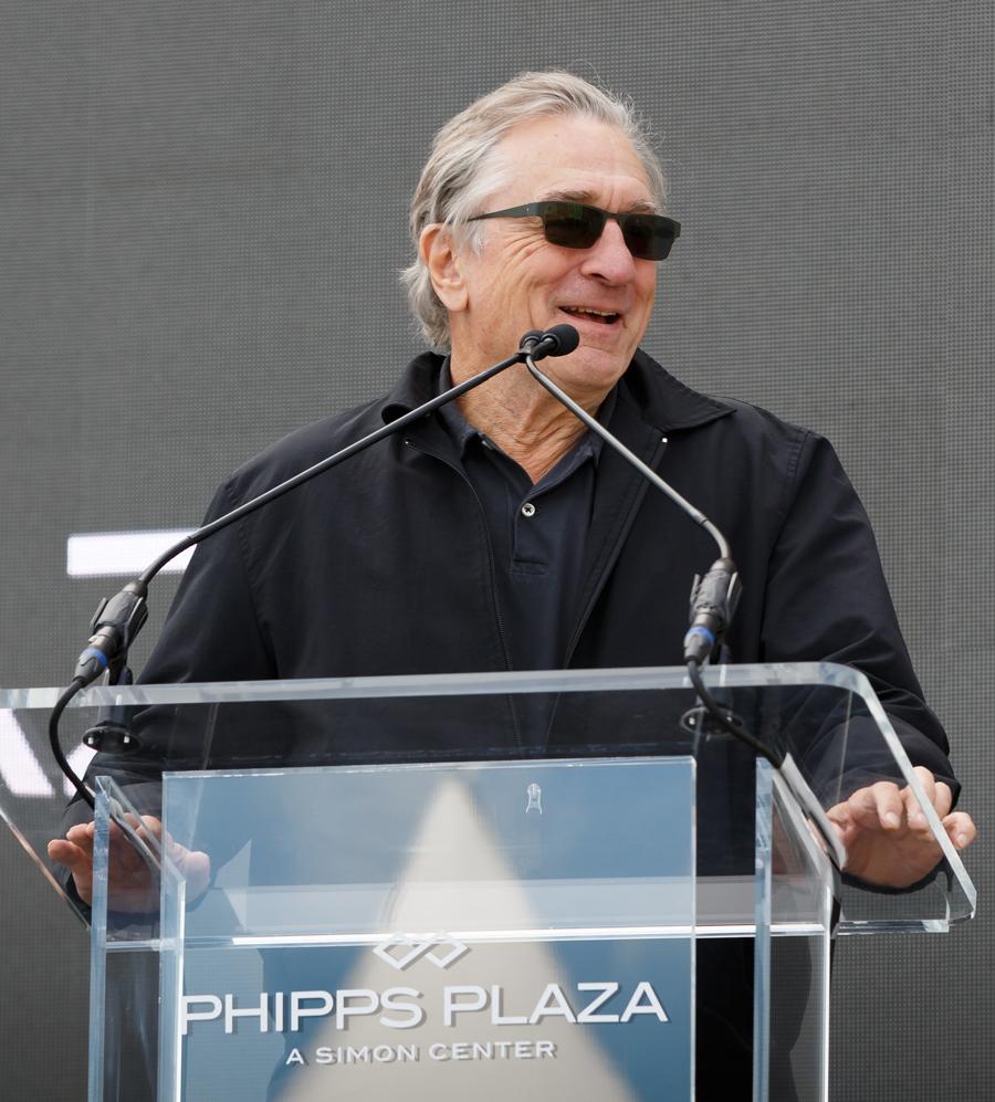 Nobu Atlanta groundbreaking Robert De Niro