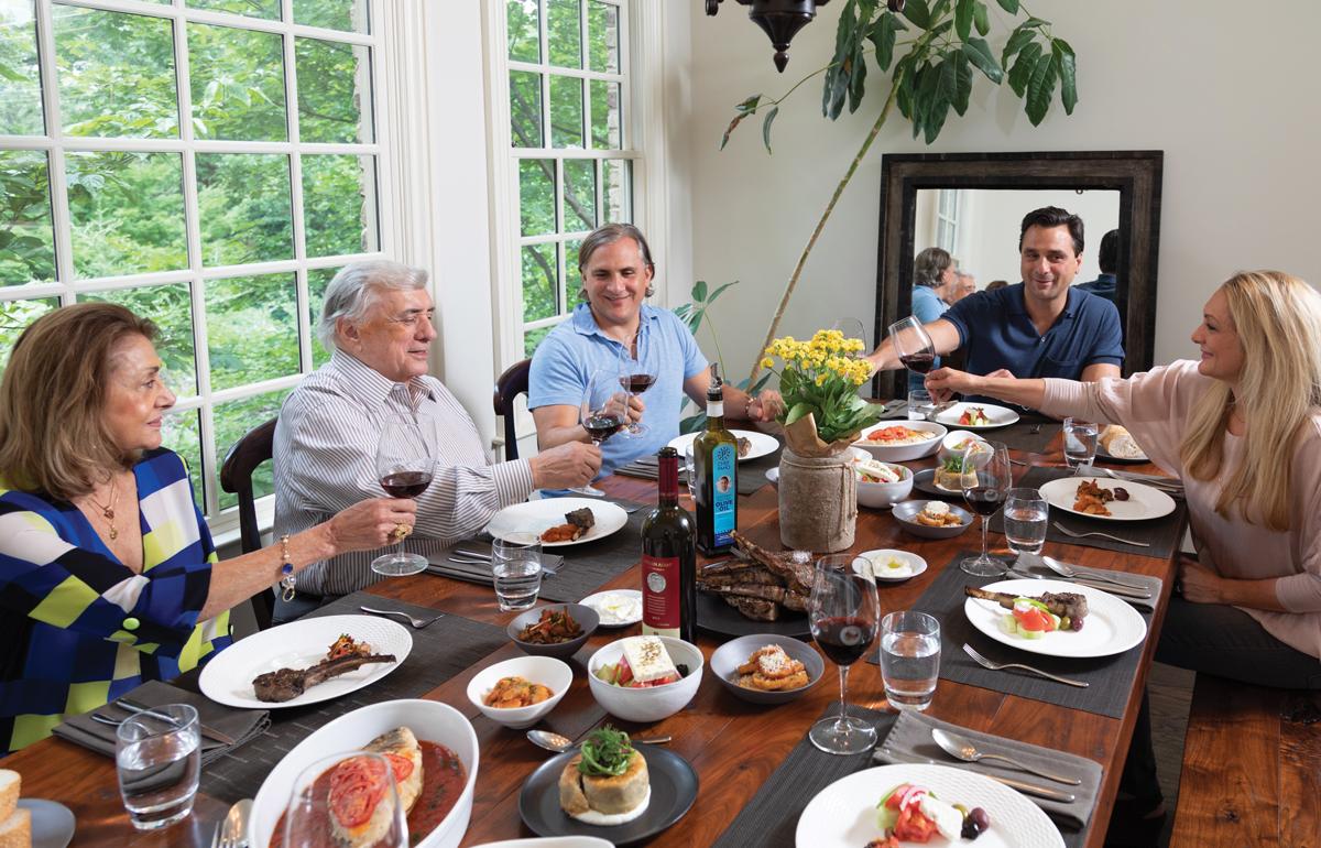 Home for dinner: Pano Karatassos