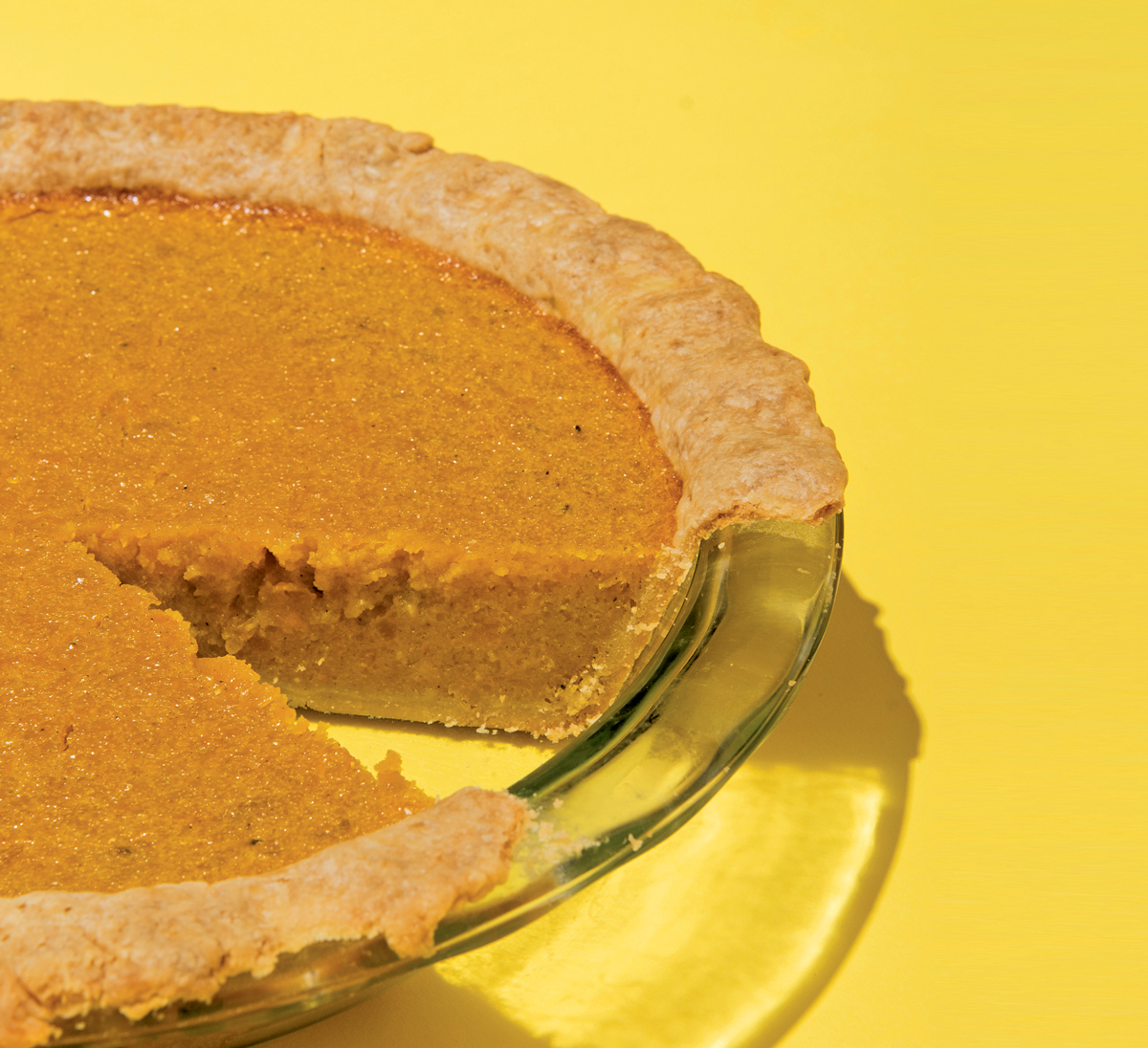 Squash and cornmeal pie