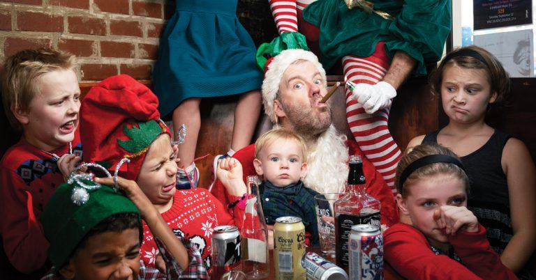 Meet Asshole Santa, the North Pole's bad influence in East Atlanta