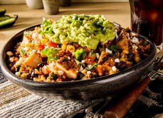 Moe's Southwest Grill test concept quinoa