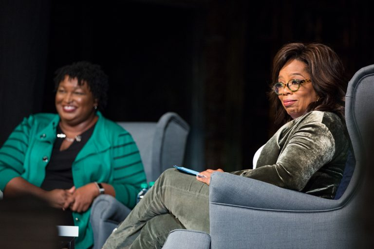 Commentary: Why Oprah's appearances with Stacey Abrams resonated so loudly—especially with Georgia women