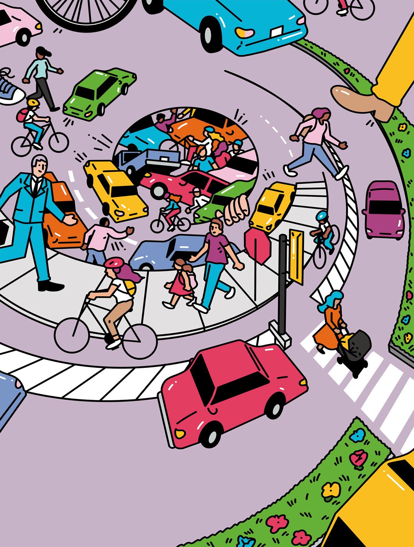 Bicyclist and pedestrian deaths