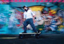 Jonas Ho's electric skateboards