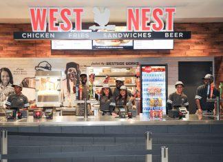 West Nest Mercedes-Benz Stadium