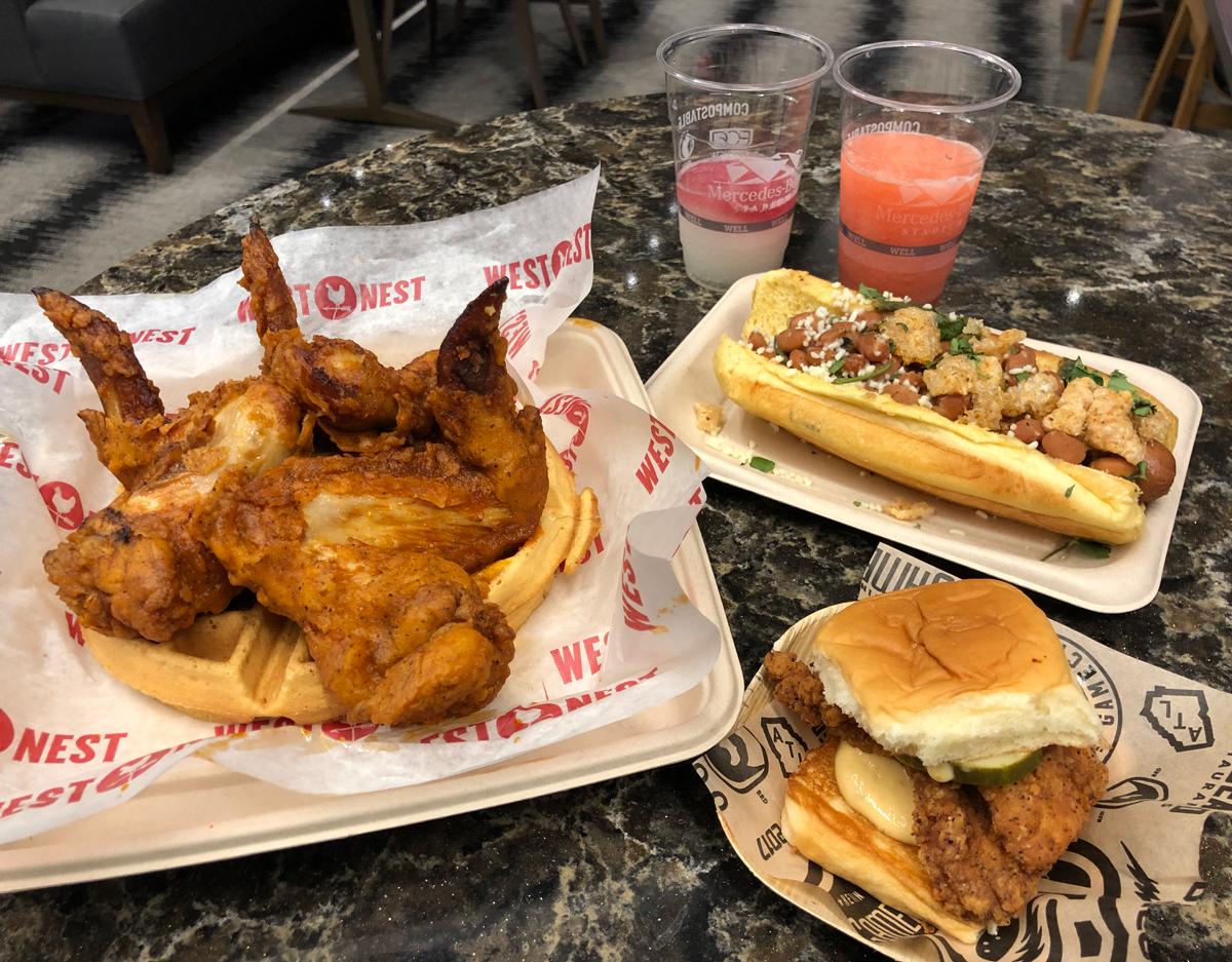 Mercedes-Benz Stadium Super Bowl food