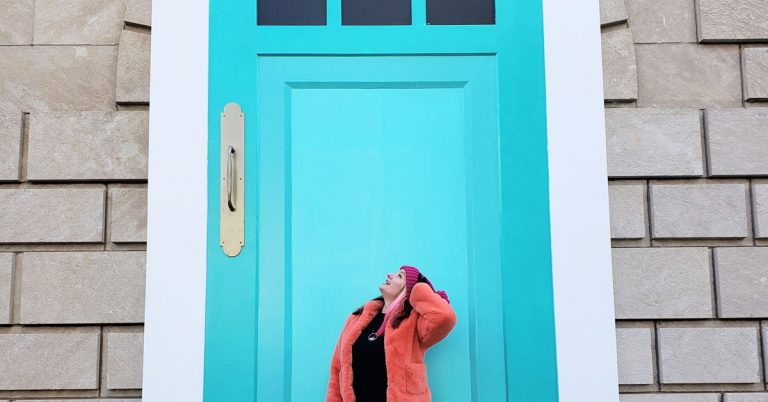 """In honor of the Super Bowl: Tiny Doors ATL's first """"not-so-tiny"""" door"""