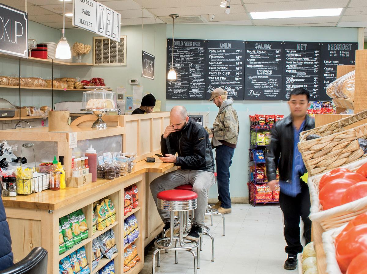 Grocery story eats: Candler Park Market