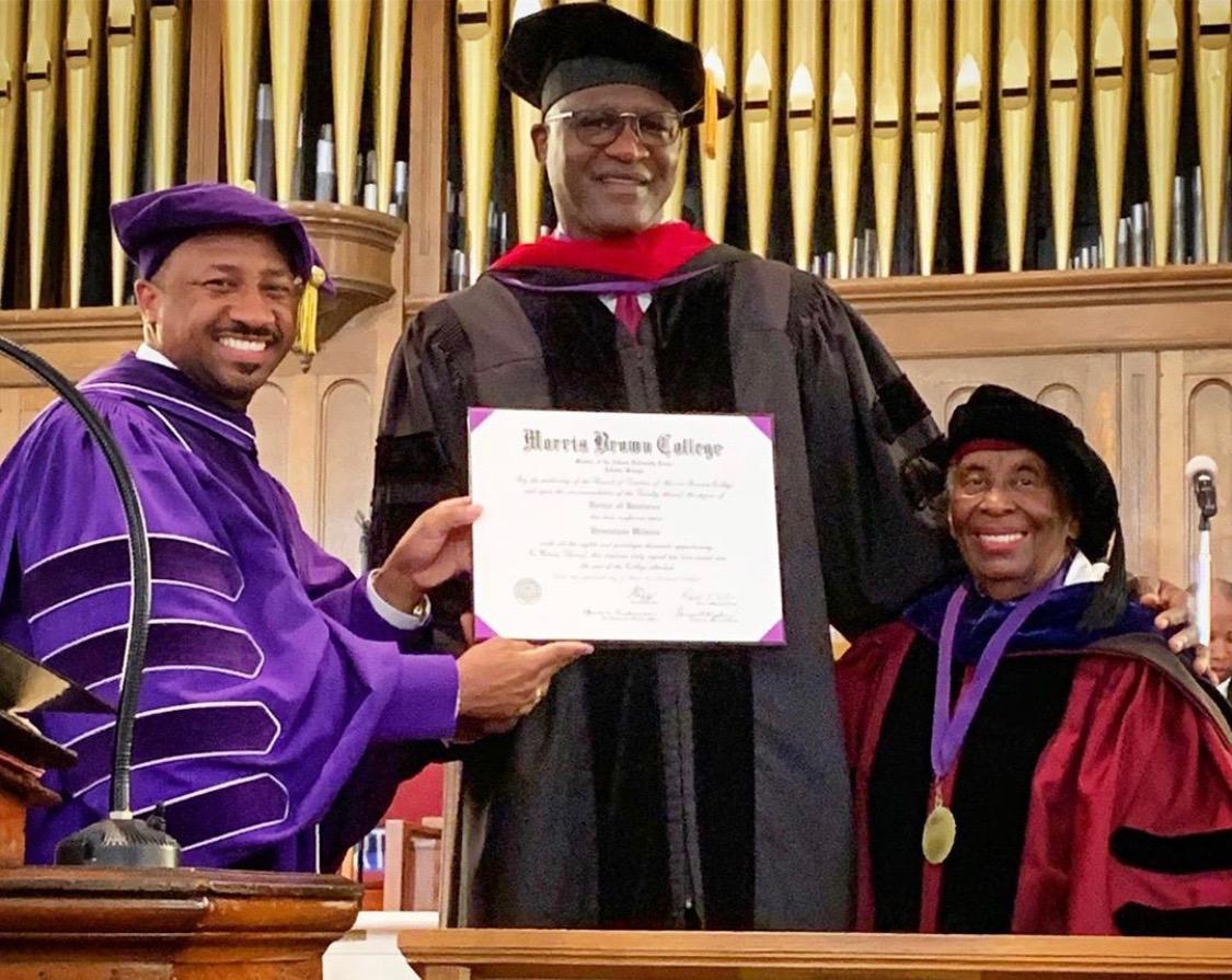 Morris Brown Graduation 2019 Dominique Wilkins