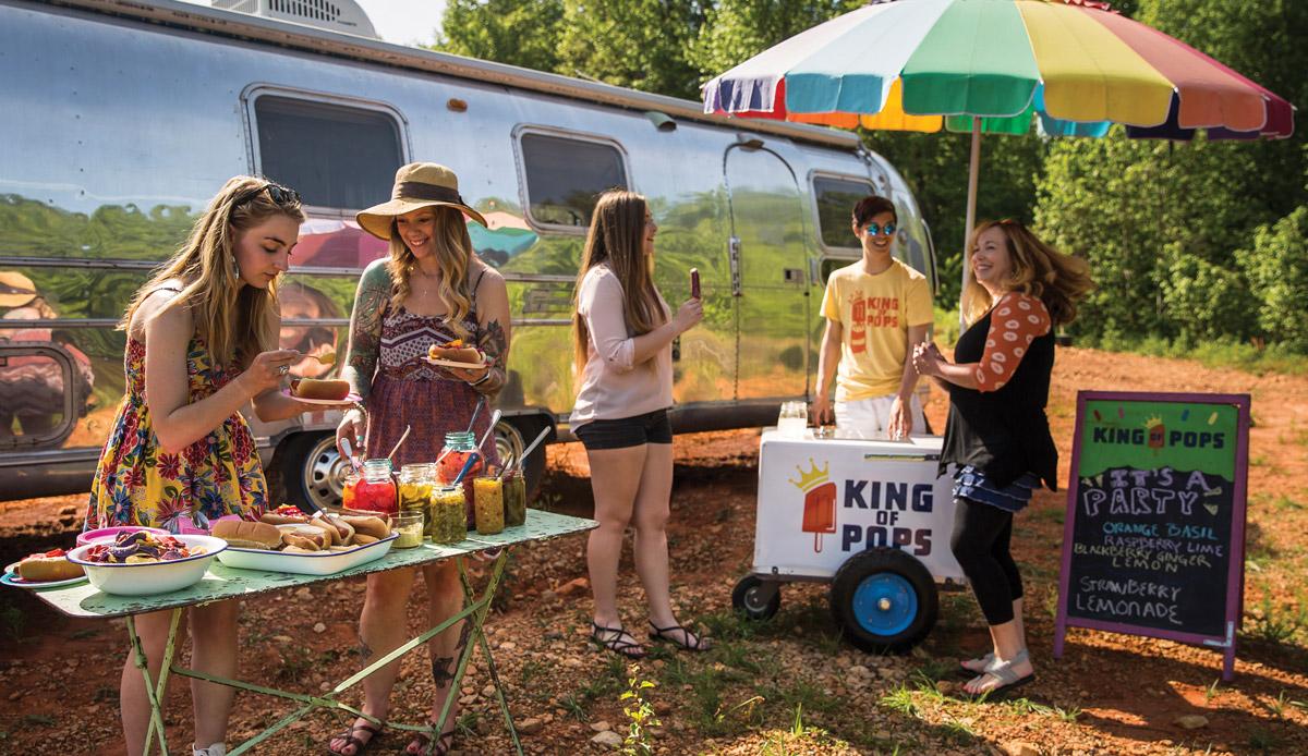 King of Pops summer picnic recipes