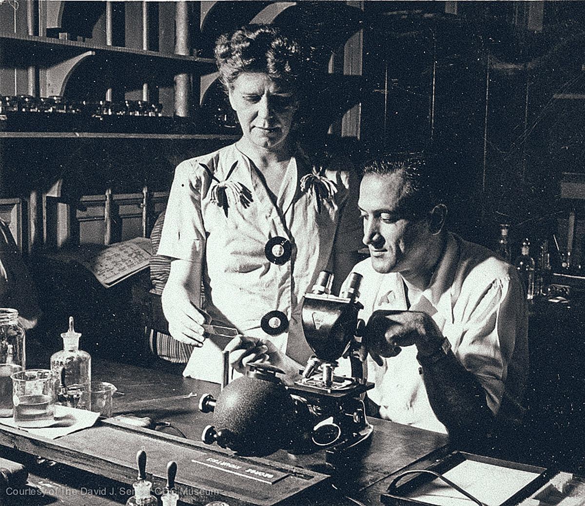 CDC in Atlanta, 1945