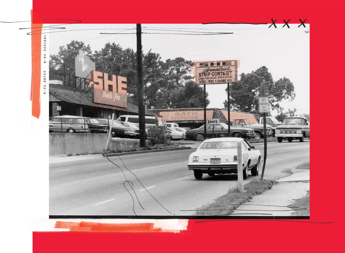 Cheshire Bridge Road history