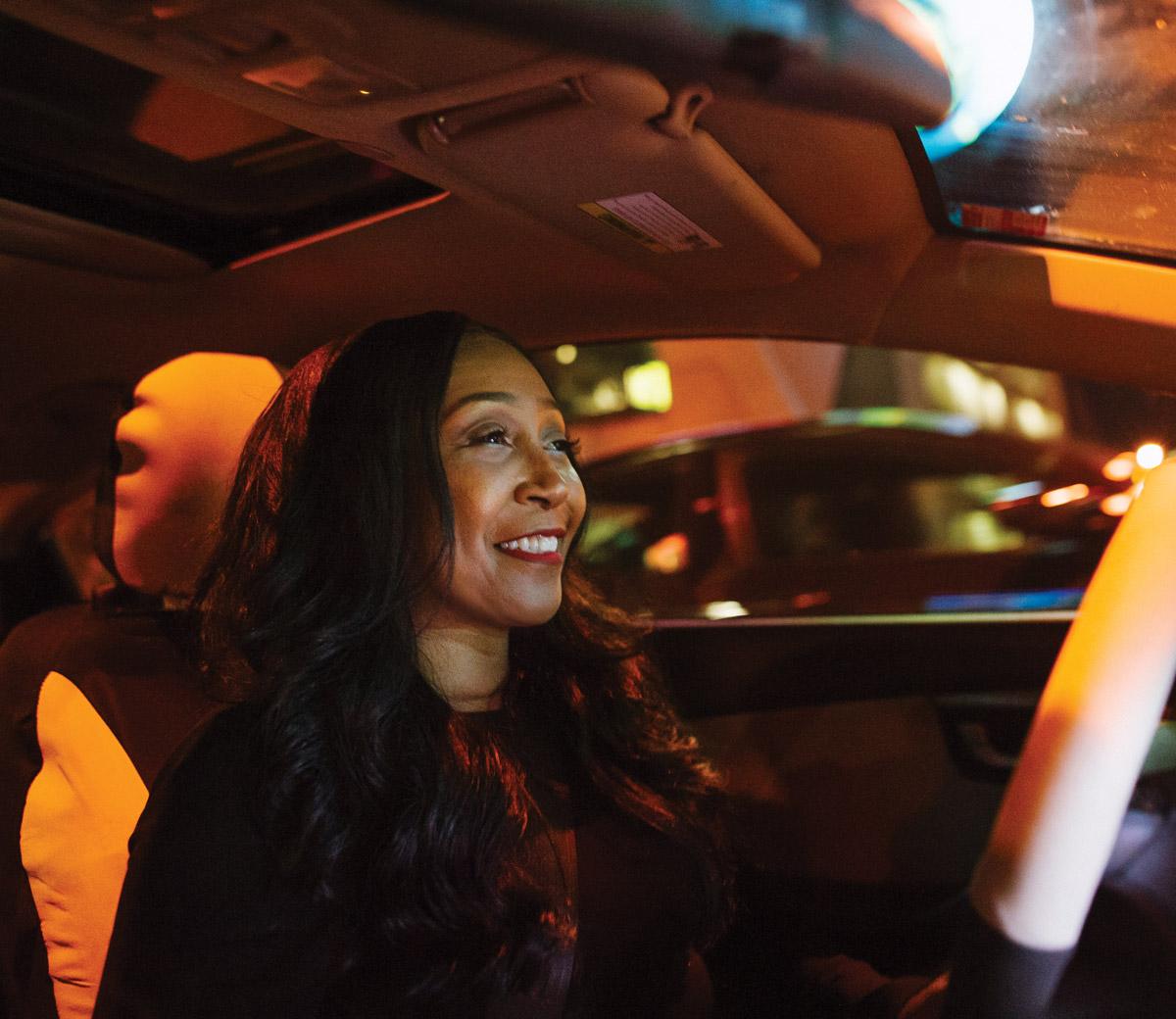 Jackee White, five-star Lyft driver