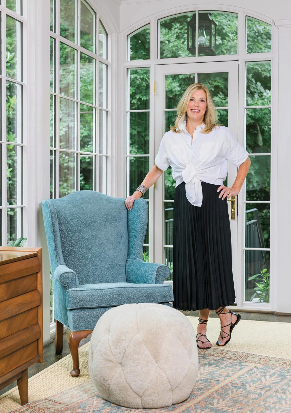 Interior designer Alice Cramer