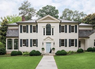 New England-style exterior