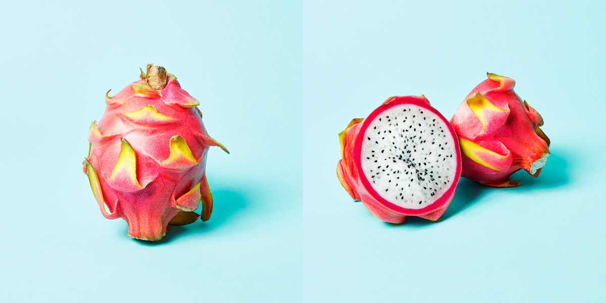 Dragon Fruit opened and closed