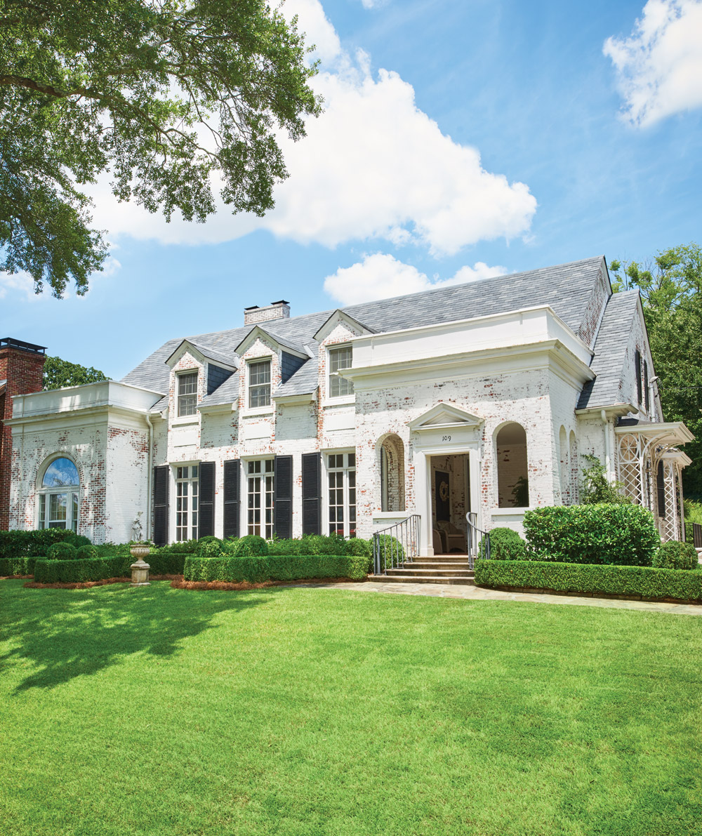 A gorgeous Ansley Park home and landscape