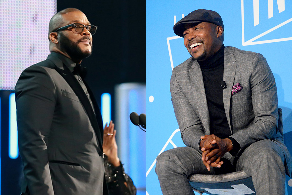 Tyler Perry and Will Packer