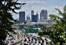 Midtown Atlanta traffic