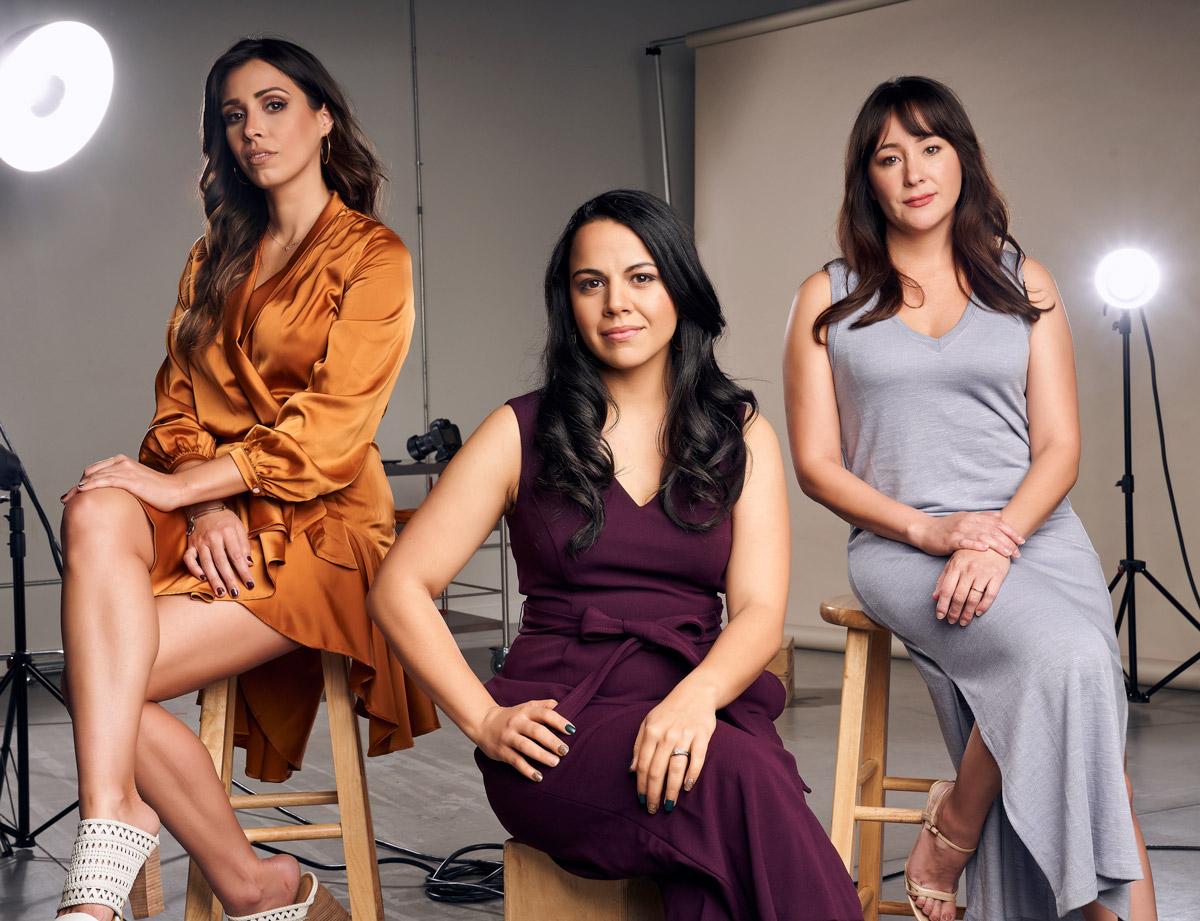 Gabrielle Ortiz, Viviana Chavez, and Denise Santos