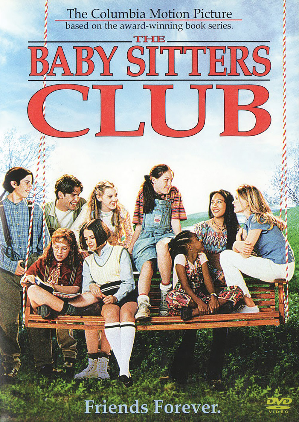 The cover of Baby Sitters Club on DVD