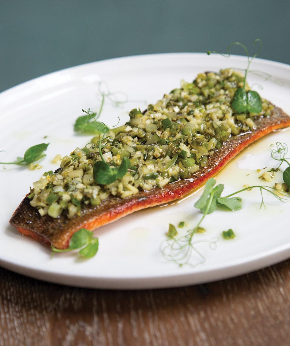 Redbird review: Pan-roasted fish