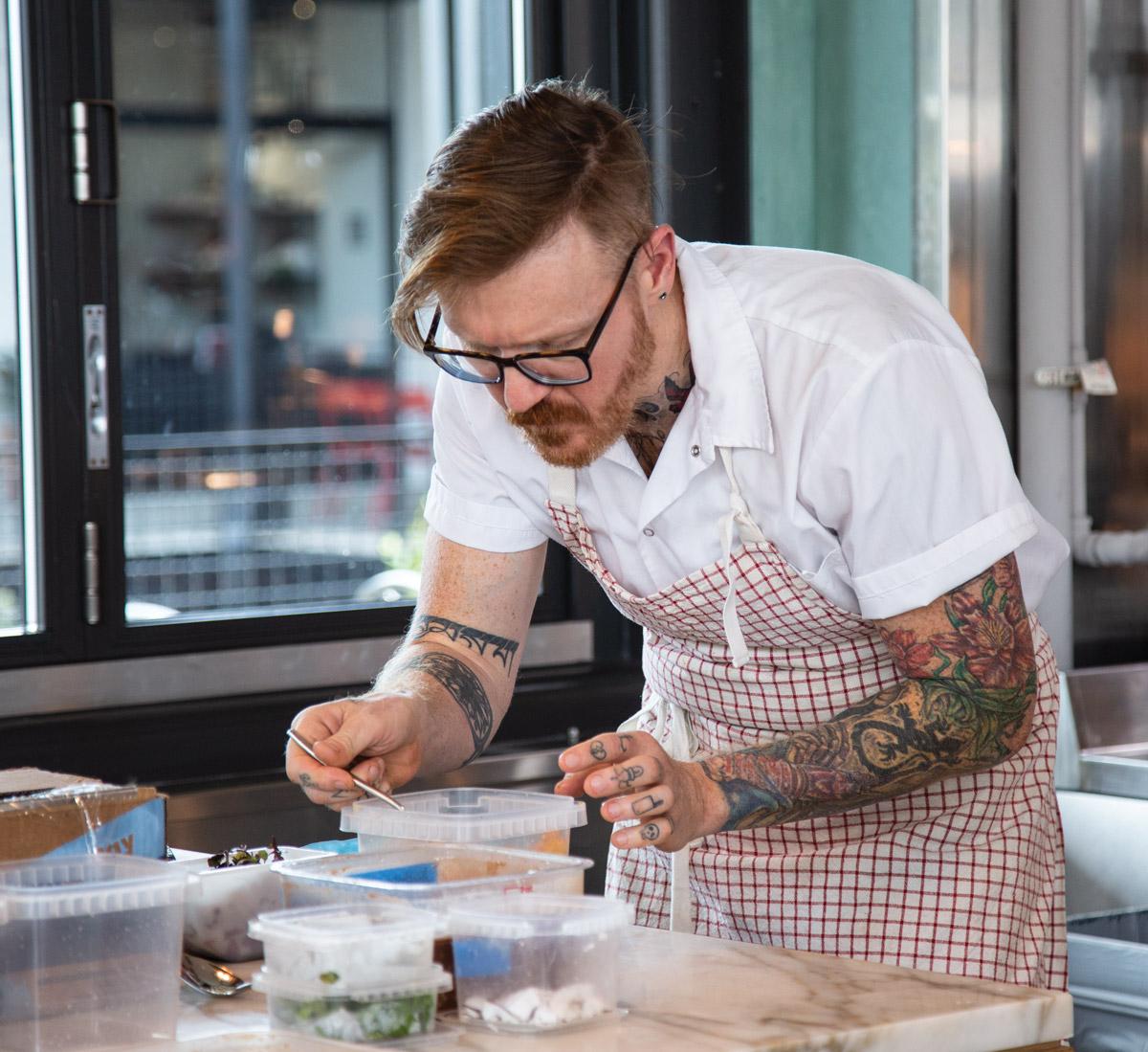 Redbird review: Zeb Stevenson focusing intently in the kitchen