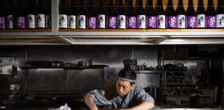 Chirori Atlanta Takashi Otsuka front and center behind the counter