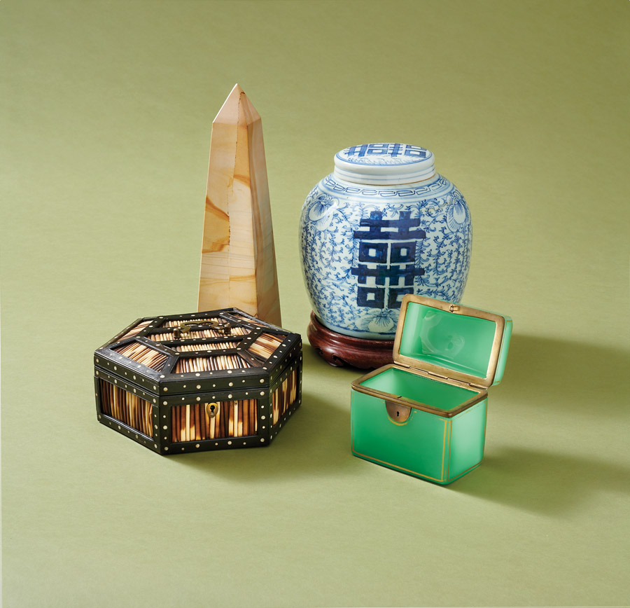 Tabletop items from Interiors Market