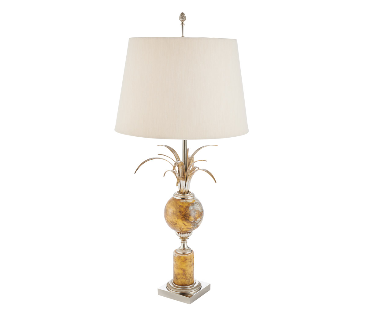 A vintage Maison Charles lamp from Travis and Company