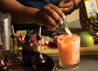 Aziza cocktails