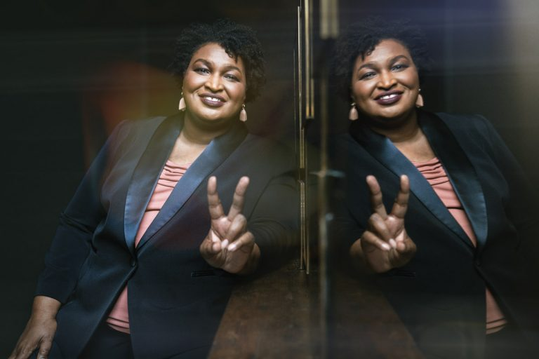 """A conversation with Stacey Abrams on voter suppression, """"electability,"""" and those VP rumors"""