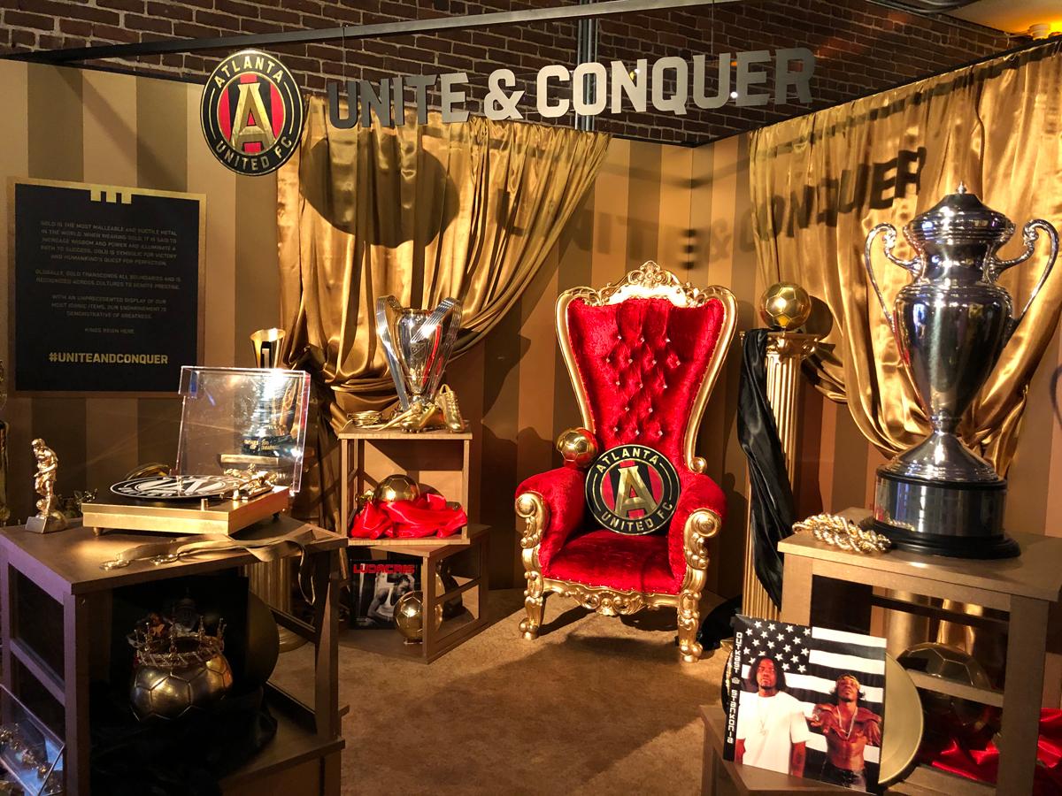 Atlanta United King's Kit Reveal Pop-up