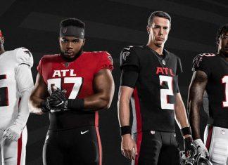 Atlanta Falcons uniform history