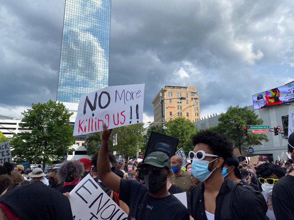 Atlanta protest black lives matter