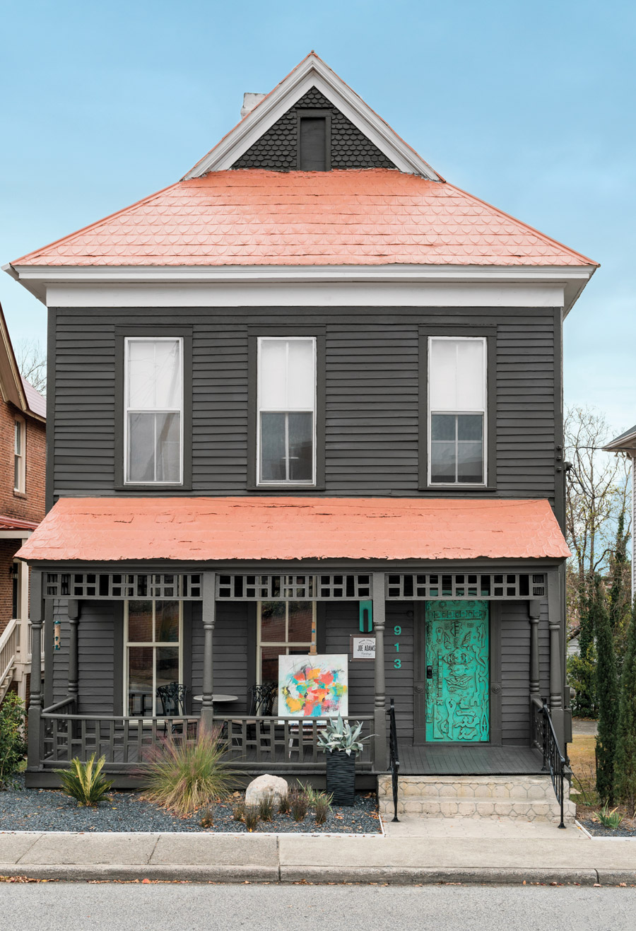 Joe Adams house Macon