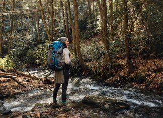 North Georgia travel where to hike, drive, bike, see fall colors, pick flowers