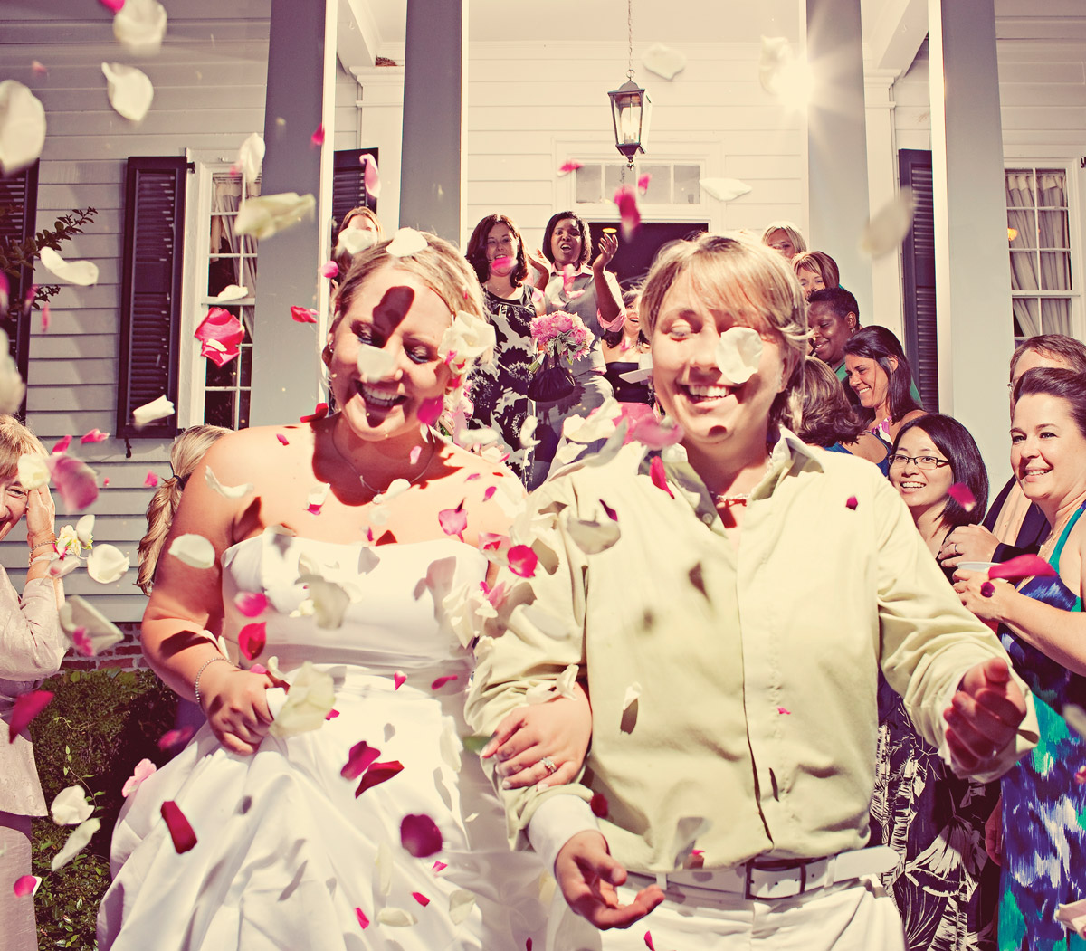 Kirsten and Maria Palladino married on June 13, 2009 in Decatur.