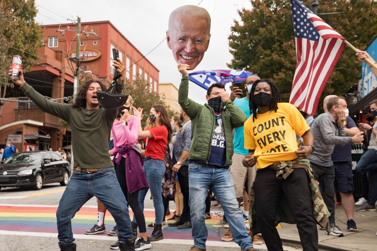 How Atlanta reacted to Joe Biden's presidential victory