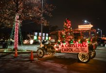 Atlanta covid-safer holiday activities drive-in